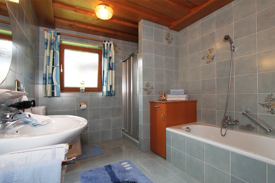 Badezimmer 1 2 Pension