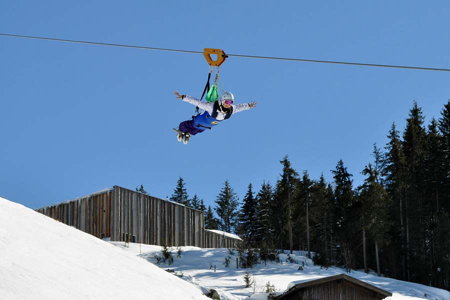 Flying Fox Xxl Winterurlaub
